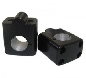 Adaptador Para Guidão 28mm - Preto - Alongador - Anker